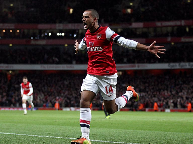 Walcott: Hoping for progress in the FA Cup