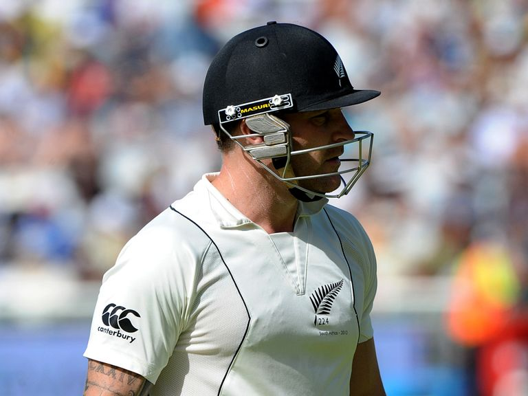 Brendon McCullum: Focused on the second Test