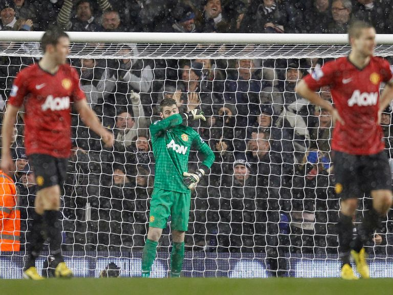 David De Gea: Came in for criticism after Spurs leveller