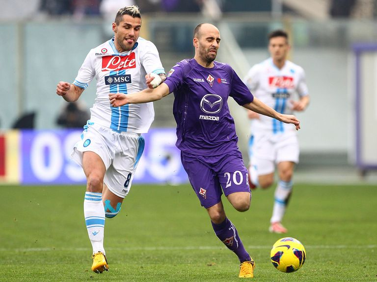 Napoli drew 1-1 against Fiorentina.
