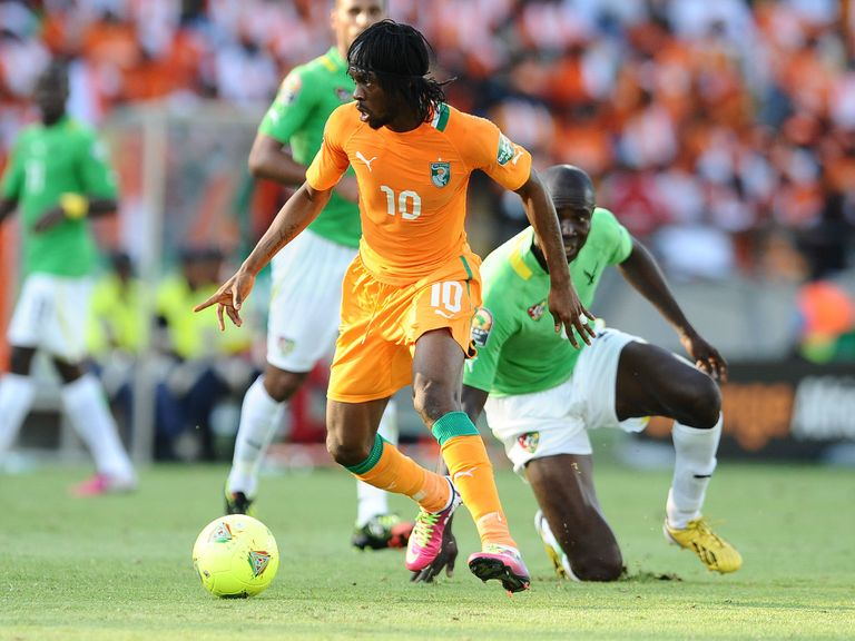 Gervinho was among the Ivory Coast scorers