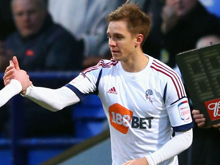 Stuart Holden: On loan at Sheffield Wednesday