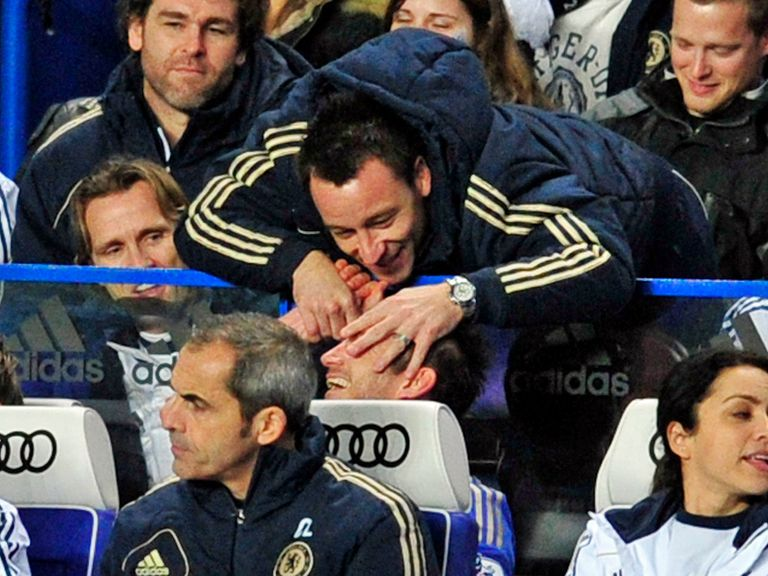 John Terry: Wants Frank Lampard to stay at Chelsea