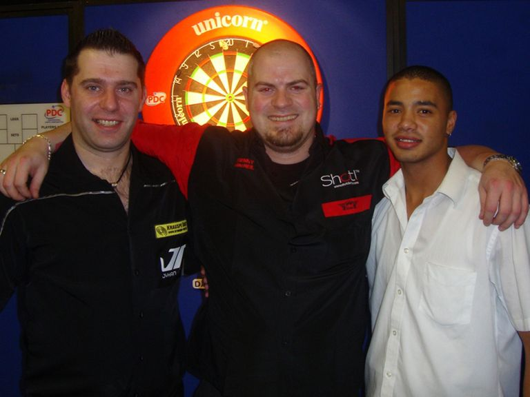 Joy for Artut, MacNeil and Pietersen (picture: PDC)