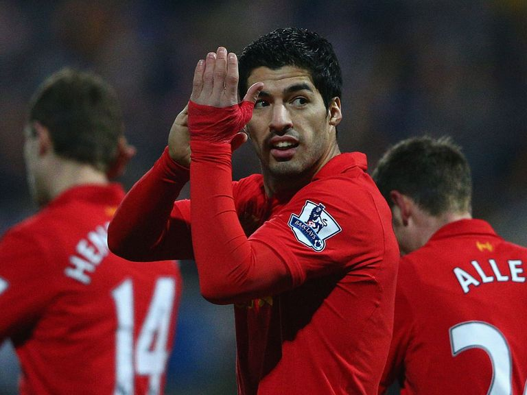 Luis Suarez: Says he's staying at Liverpool