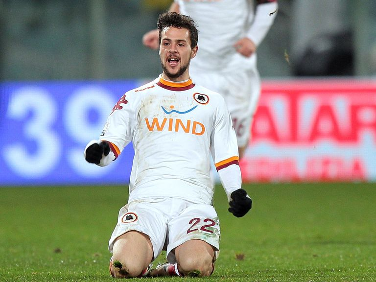 Mattia Destro: Netted a double to seal place in final for Roma