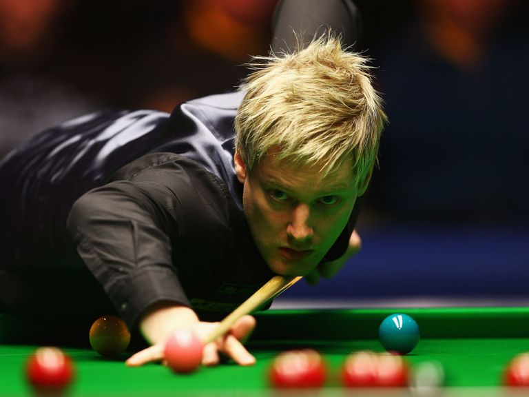Neil Robertson: Eased through to the last eight