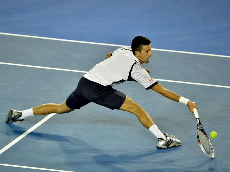 Novak Djokovic: Through to the last four in Melbourne