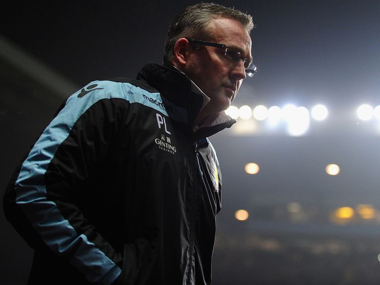 Paul Lambert: Retains Lerner's backing