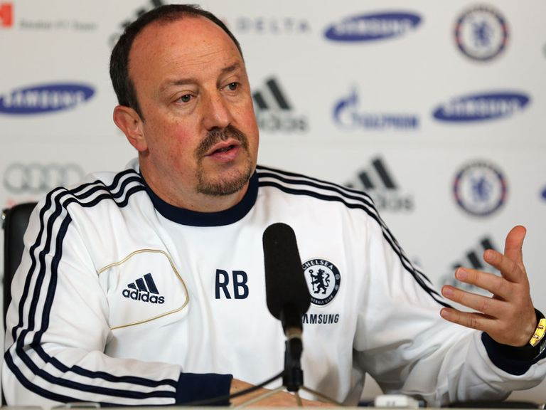 Benitez: Says Chelsea must think about the future