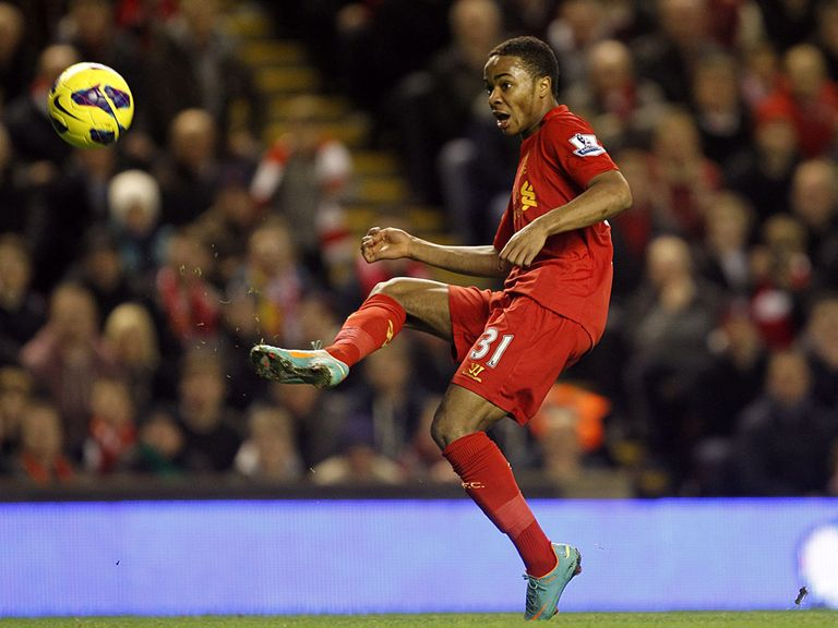 Raheem Sterling nets against Sunderland