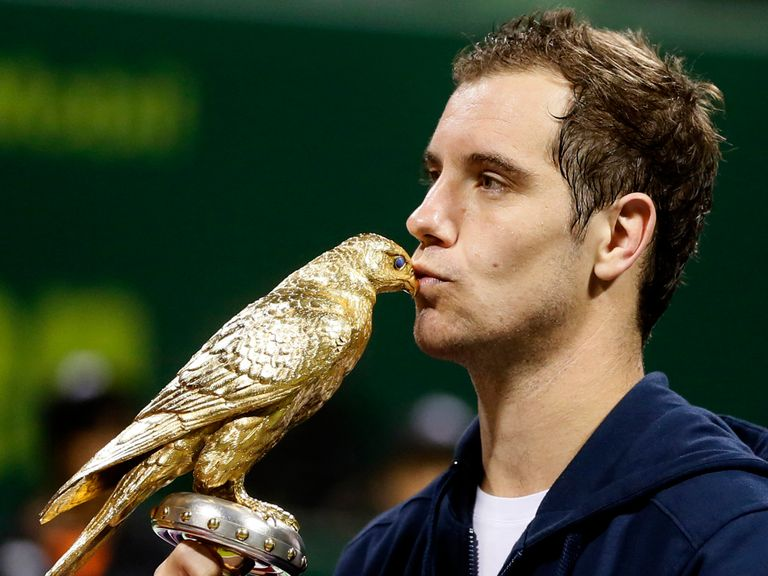 Richard Gasquet: Won the recent Qatar Open