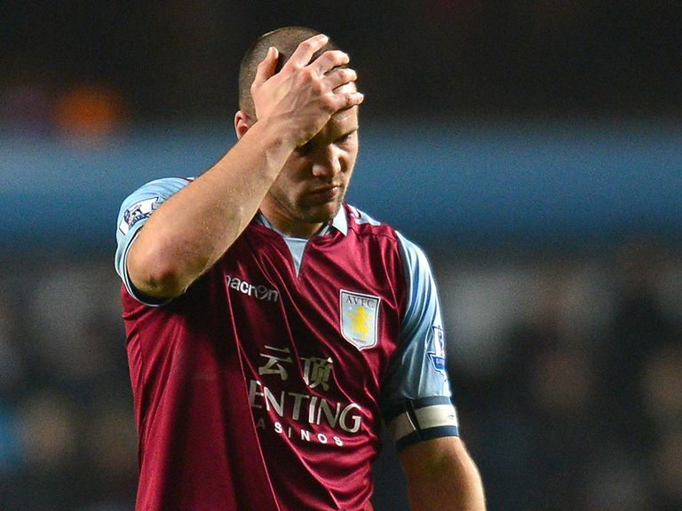 Ron Vlaar: Says everyone feels responsible in Aston Villa's fight for survival