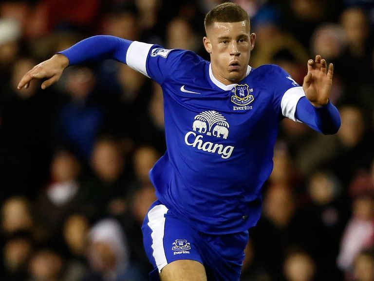 Ross Barkley: Backed by Leighton Baines