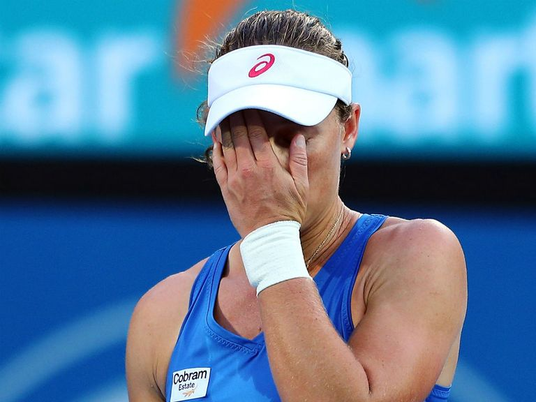 Samantha Stosur: Knocked out in the first round