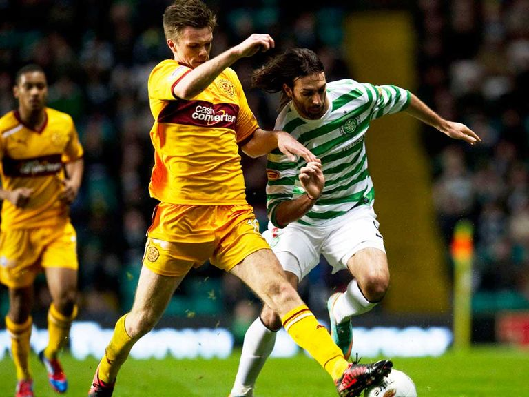 Fraser Kerr: Extended his loan deal with Motherwell