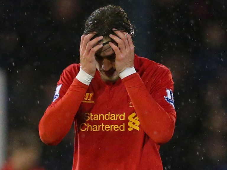 Dejection for Liverpool at Boundary Park