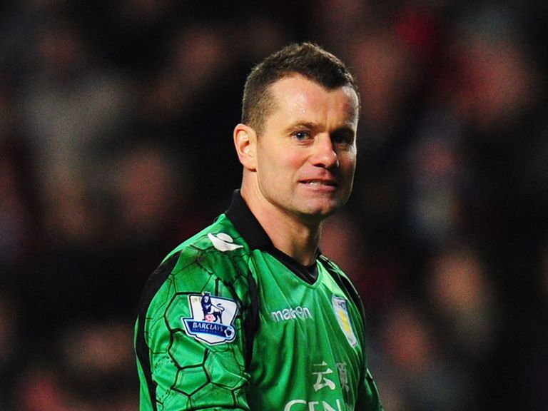Shay Given: Set to leave Aston Villa this summer