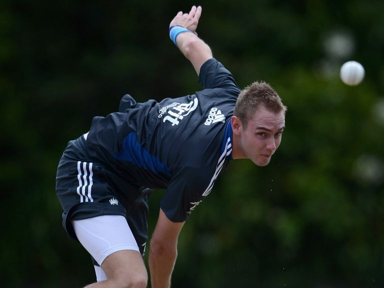 Broad back in action in New Zealand