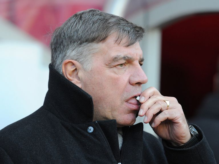 Sam Allardyce: Looking to strengthen his defence
