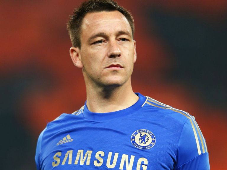 John Terry: Expected to start against Brentford