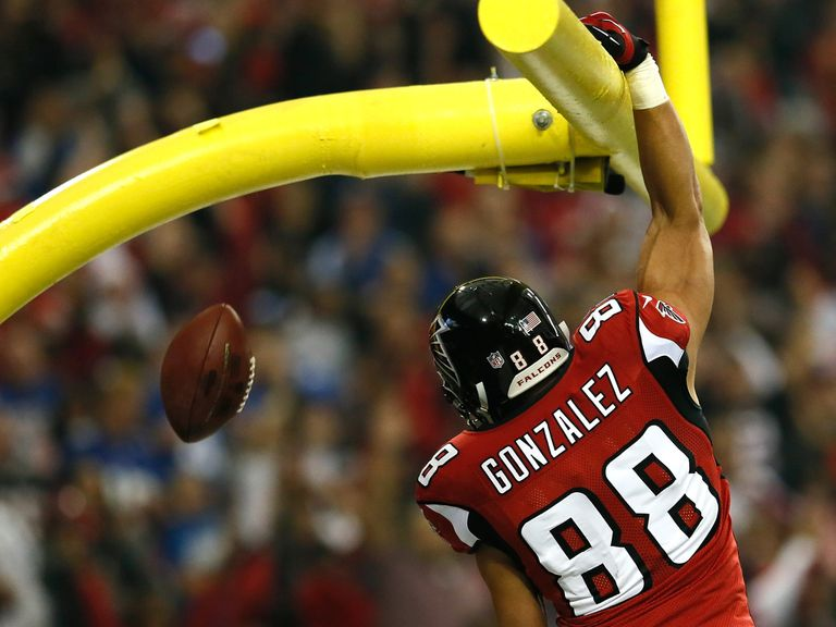 Gonzalez: Can find the end zone for Atlanta