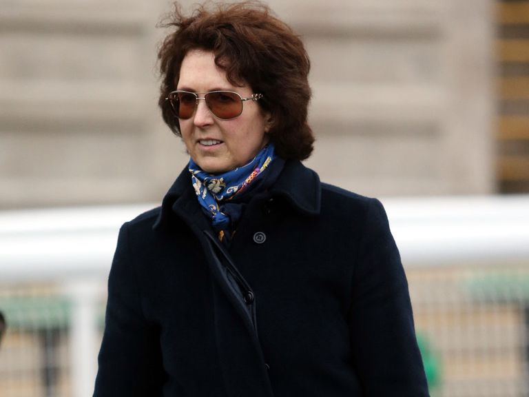 Venetia Williams: Double landed at Newbury