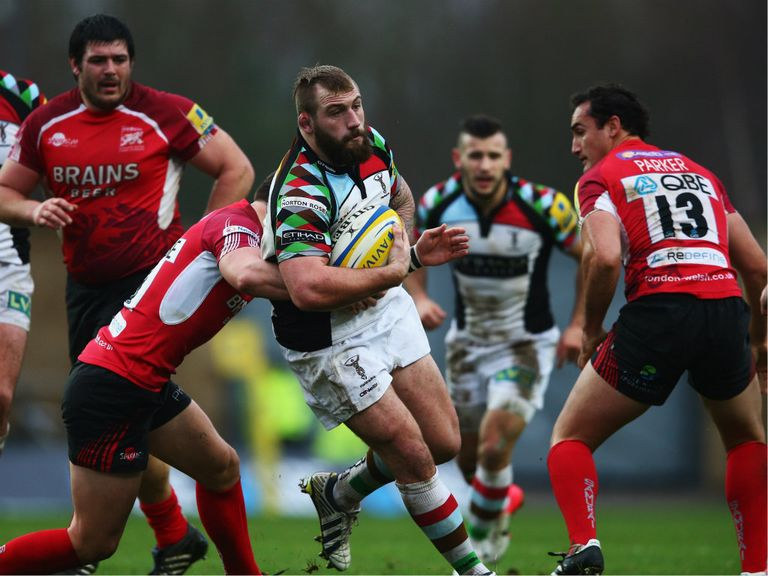 Harlequins were just too strong for London Welsh