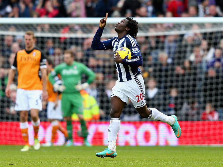 Lukaku: Will finish the season at West Brom