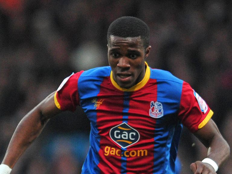 Wilfried Zaha: Palace deny deal is done