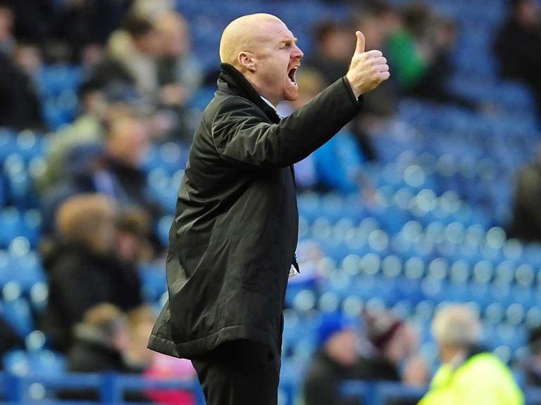 Dyche: Has led Burnley to play-off contention