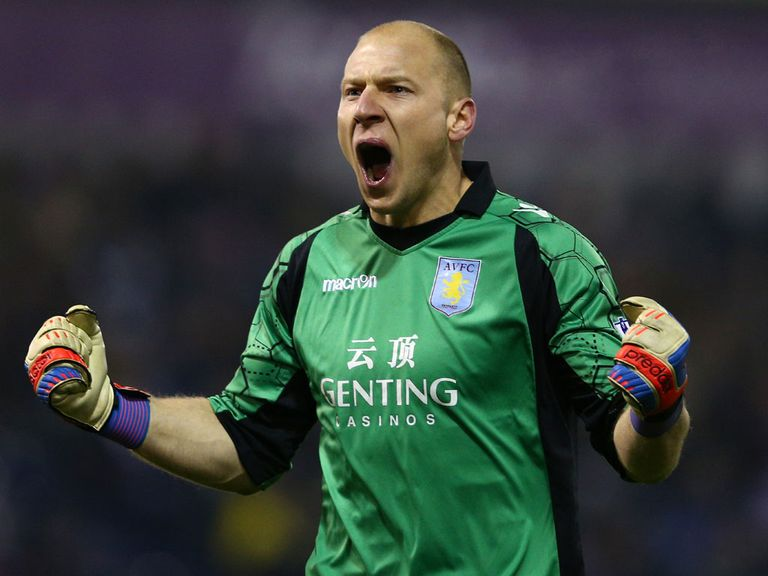 Brad Guzan: Has impressed Lambert