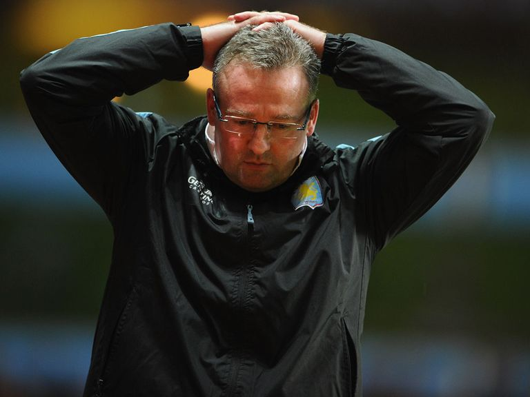 Another setback for Lambert and Villa