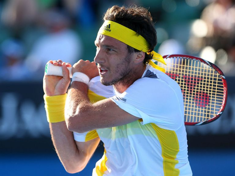 Juan Monaco: Not a fan of the grass