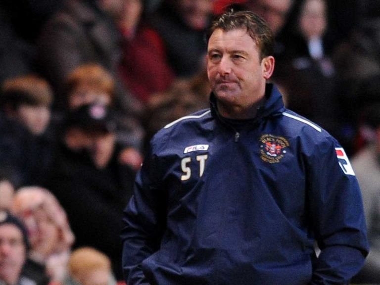 Steve Thompson: Blackpool caretaker-boss