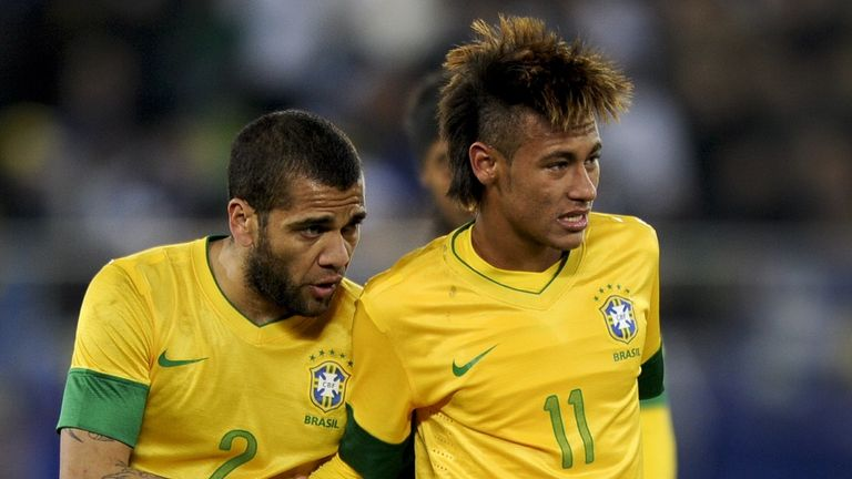 Neymar (r): To face Bolivia in fund-raising game
