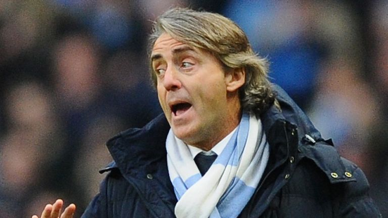 Roberto Mancini: Has seen City's title hopes fade this season