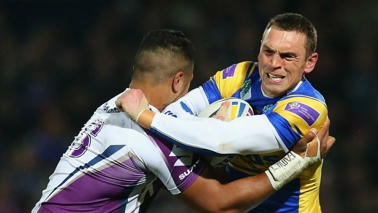 Kevin Sinfield: Proud of Leeds