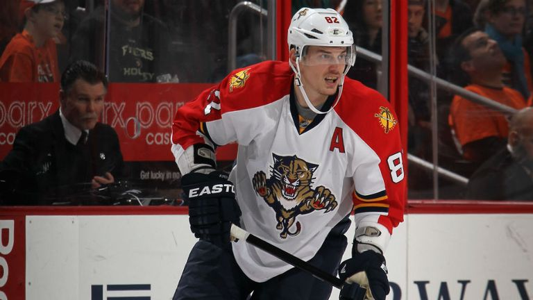 Tomas Kopecky: Scored a treble for the Florida Panthers