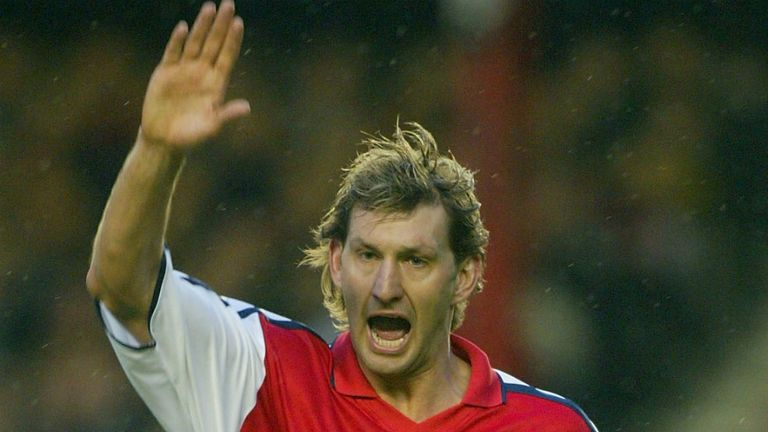 Tony Adams: Has questioned Arsenal's choice of chairman
