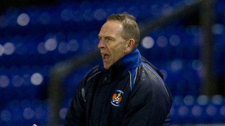 Kenny Shiels: Thought his side did well to match St Mirren.