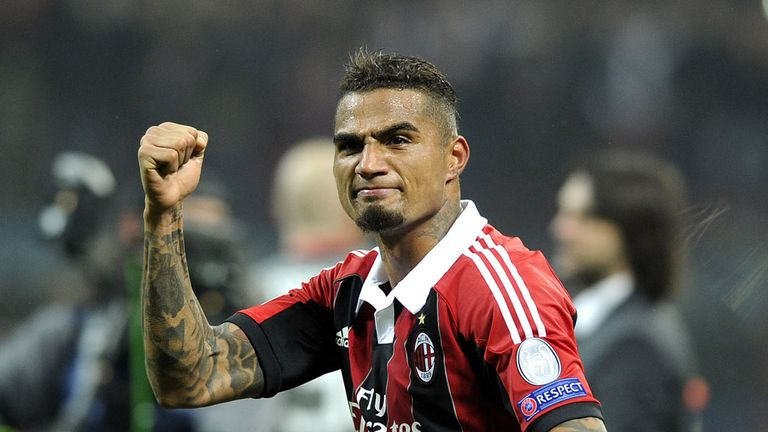 Kevin-Prince Boateng: Believes AC Milan need to win at Juventus