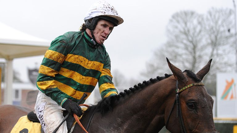 Yours truly: AP McCoy is confident about his horse's Cheltenham chances, says Ed