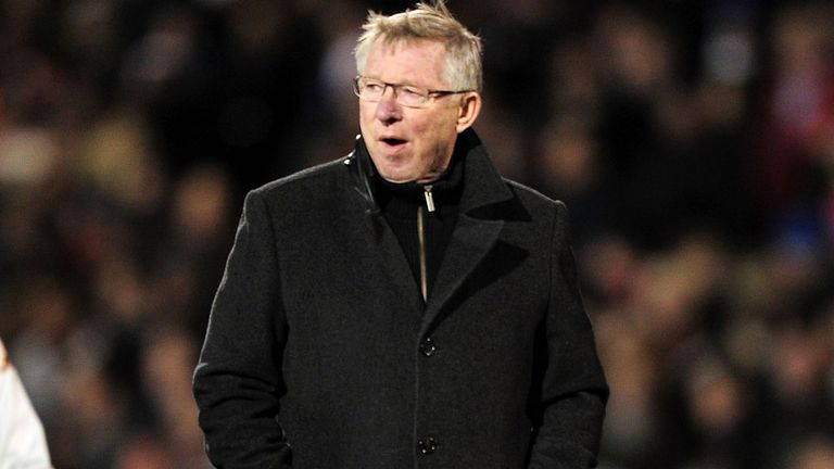 Sir Alex Ferguson: Still enjoying his job and has no plans to stand down
