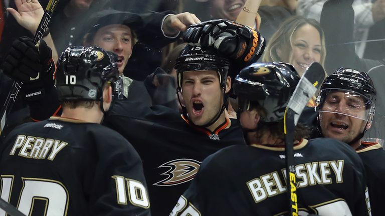 Anaheim Ducks: Made it five wins in a row against Columbus Blue Jackets