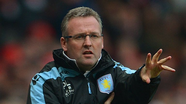 Paul Lambert: Says his Aston Villa side are not dirty