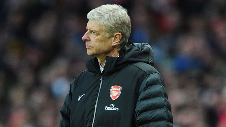 Arsene Wenger: Defended his players' behaviour