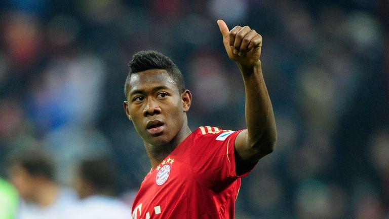 David Alab: Scored two goals in Bayern Munich's victory