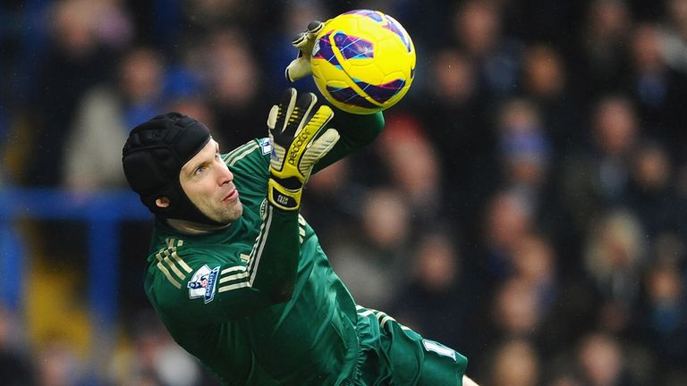 Petr Cech: The Chelsea shot-stopper is happy with Rafa Benitez