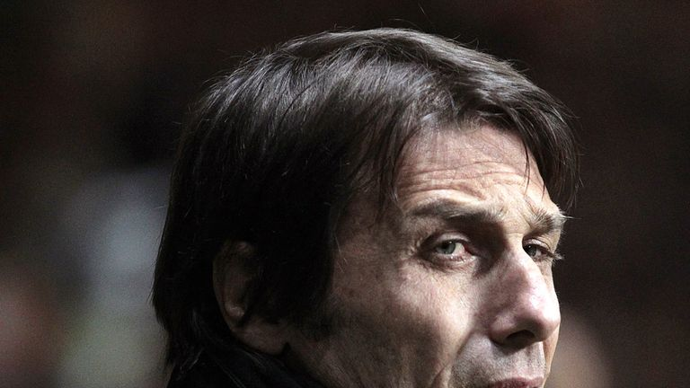 Antonio Conte: Takes his side to Sampdoria